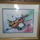 "Lorraine Brewer Amazing Grace Print - Matted & Framed including Glass  20"" x 17"""