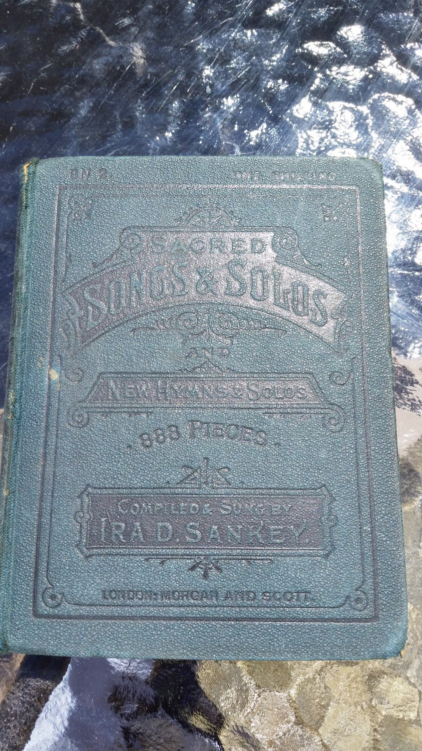Sacred Songs and Solos and New Hymns and Solos 888 pieces by Ira D Sankey - 1925!