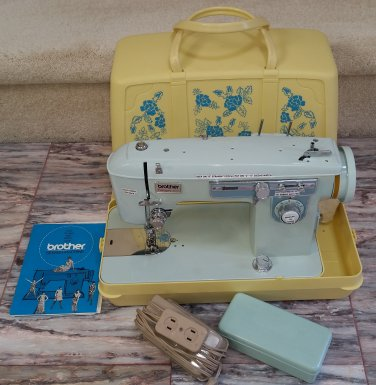 Vintage Brother CHARGER 40 MODEL C Sewing Machine With Case Awesome Brother Charger 651 Sewing Machine Manual