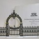 "Department 56 "" Victorian Wrought Iron Fence and Gate"" #5252-3!"