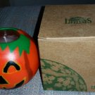 JACK-O-LANTERN (PUMPKIN) Design Round Candle by Lifelines Trading, LTD - Handmade - Unscented!