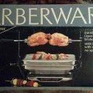 FARBERWARE 455N Smokeless Indoor Grill Open Hearth Rotisserie - BRAND NEW IN BOX - SUPER RARE!