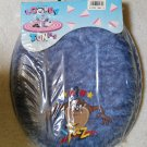"Looney Tunes Tazmanian Devil ""TAZ"" Padded Soft Toilet Seat Vintage 1994 - NEW - SEALED - Ginsey!"