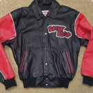 BETTY BOOP BLACK LEATHER BOMBER JACKET by EXCELLED - SIZE XS - RUNS BIG!