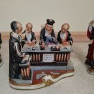 CAPODIMONTE 3 PC. LEGAL FIGURINE COLLECTION by CARLO SAVASTANO - LAWYER UP!
