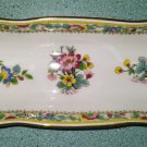 "MING ROSE Pattern Rectangular MINT TRAY CANDY DISH by COALPORT China - 8-3/4""!"