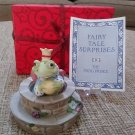 Fairy Tale Surprises Collection The Frog Prince by The Franklin Mint from 1986!