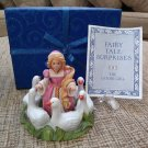 Fairy Tale Surprises Collection The Goose Girl by The Franklin Mint from 1986!