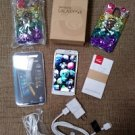 Samsung Galaxy S5 SM-G900V-16GB-White Android Verizon Smartphone w/ Tempered Glass,Cases & more!