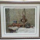 Gunter H. Korus 'Brass & Pewter' Still Life Lithograph #7 of 300!