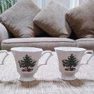 NIKKO Christmastime Footed Coffee Mug, 12-Ounce, Set of 4  - A SEASONAL CLASSIC!