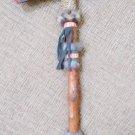 BUFFALO JAW BONE Tomahawk - perfect addition to Southwestern or Native American style home decor!