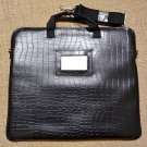 "MOSISO Laptop Shoulder Bag 15-15.6"" MacBook Pro,Faux Alligator Protective Briefcase Carrying Sleeve!"