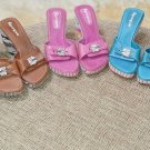 "EPOQUE ""Dr. Scholls Type"" Platform Wedge Sandals - Lot of 5 Pair - Size 7 1/2!"