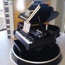 Mr. Christmas Musical Grand Piano Symphonique-5 Christmas Carols & 5 Classics on Engraved Metal Dsks