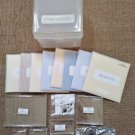 CLOSE to my HEART Acrylix Stamps Organizer Lot - 9 STAMP SETS; 6 BLOCKS & SCISSORS!