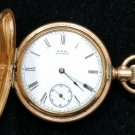 ANTIQUE WALTHAM Model 1889 Pocket Watch - WORKS GREAT!