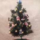 HALLMARK 2002 Christmas Tree - Santa's Big Night #QX4476 - Handcrafted Design by Kristina Kline!