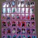 Michael Jackson Topps Trading Cards &  O-Pee-Chee Puzzle Cards/Stickers - Lot of 47 from 1984!