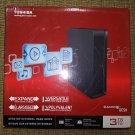 Toshiba 3TB Canvio DWC130 Desktop External Hard Drive (Black) - COMPLETE - LIKE NEW in Original Box!