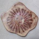 Mara Fine Art Stoneware SUN Collection Dinner Plate - Handmade & Hand-painted!