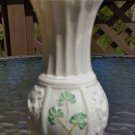 Belleek Petite Fine Parian China Classic Nadine Spill Vase with Shamrocks - Creamy Off White!