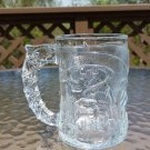 Batman Forever - 1995 McDonald's Glass Cup Mug - Batman and Gotham City etched in glass!