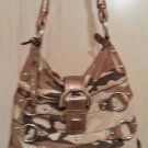 B. Makowsky Camouflage Printed Leather North/South Tote SKU #33744 - Leopard Lining!