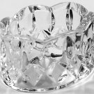 Gorham Crystal King Edward Oval Napkin Rings - Set of 8 - Original Foil Labels - Beautiful!