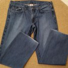 True Religion Ricky Flap Pocket Super T World Tour Thick Stitch Jeans - Size 36 - MADE IN USA!