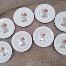 Vintage Enesco Collection Precious Moments 'Love One Another' Plates & Bowls from 1994!