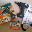 BLACK & DECKER 6.0V 9089 2-Speed 275/550 RPM Cordless Drill / Screwdriver!