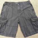 Mossimo Supply Co. Cargo Shorts Men's Size 34 - Charcoal!