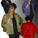 Via Ripatti Designs of California RED Retro Swing Coat Jacket - OSFM - Size 6-16!