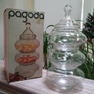 Vintage 1970's Stacking Jar Set – The Pagoda – By Anchor Hocking – Stacking Apothecary Jars!
