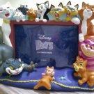 Disney Pets Cats Picture Frame 5x7 Photo 3D Aristocats Duchess Cheshire Lucifer