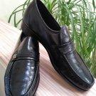 Florsheim Men's Riva Slip-On Dress Moccasin Shoe - Black Leather - Airport Friendly - Size 9D