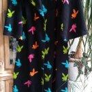 Vintage Playboy Signature Bunny Fleece Robe Snuggle Wrap Blanket w/ Sleeves One Size - RARE!