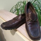 Florsheim Comfortech Brown Leather - Men's Loafer Shoes - Size 10