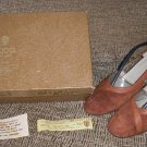 GUCCI Cinnamon Rust Suede Shoes Pumps - Size 38 - 100% AUTHENTIC!