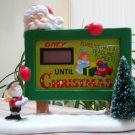 "Department 56 North Pole Village Countdown to Christmas Accessory Figurine, 4.5"" #4030721!"