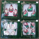 Vintage Bradford Novelty Glass Christmas Trimmeries Ornaments - Lot of 4 Boxes!