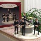 Hallmark Keepsake Ornament 'The Beatles Gift Set' #QX-5373 - Handcrafted Dated 1994!