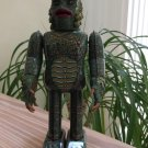 "Universal Monsters CREATURE Wind-up Walking Tin Toy by Robot House - 9"" - Made In Japan!"
