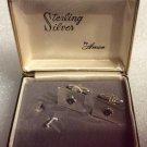 Vintage Anson Sterling Silver Knights of Columbus Cufflink Set - NOS