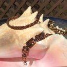 Vintage Copper & Brass Bracelet Lot - 3 pieces!