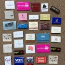 Lot of 31 Vintage Match Books including GUCCI, LE CIRQUE, THE HELMSLEY & More!