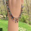 Boho/Bohemian Chic Dangling Multi Color Beaded Ankle Bracelet!
