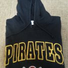 PITTSBURGH PIRATES XXL Hoodie Sweatshirt - Felt-Backed Sewn-On Letters & Embroidered LOGO by Adidas!
