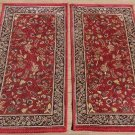 "Set of 2 Turkish PASHA 100% Wool Runners PAIR 60"" (5 Feet) Long x 31""W EACH!"